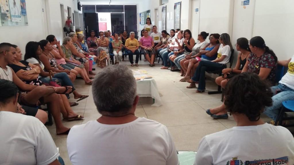 SETEMBRO AMARELO: UBS MAIA REALIZA TERAPIA COMUNITÁRIA INTEGRATIVA