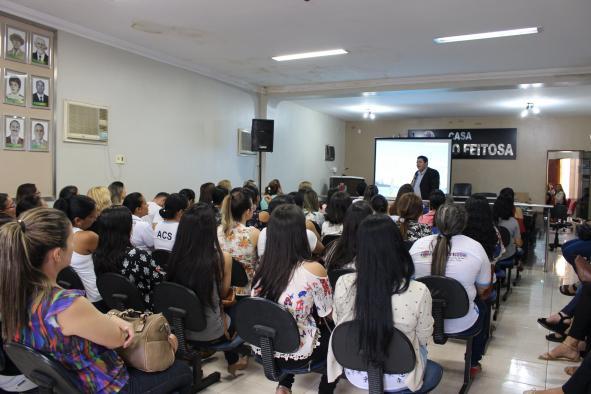 Secretaria De Saúde Promove Palestra Motivacional Na