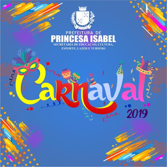 CARNAVAL 2019: PREFEITURA REALIZARÁ CONCURSO DE CARETAS