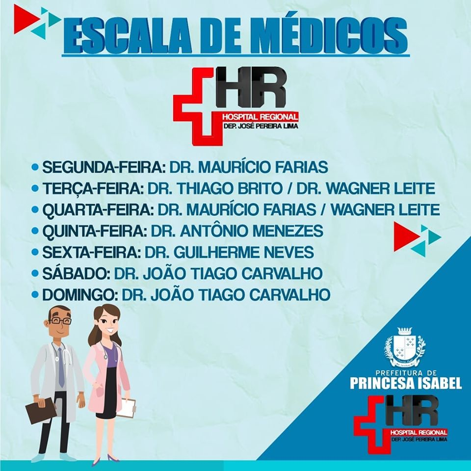 ESCALA DE MÉDICOS DO HRPI