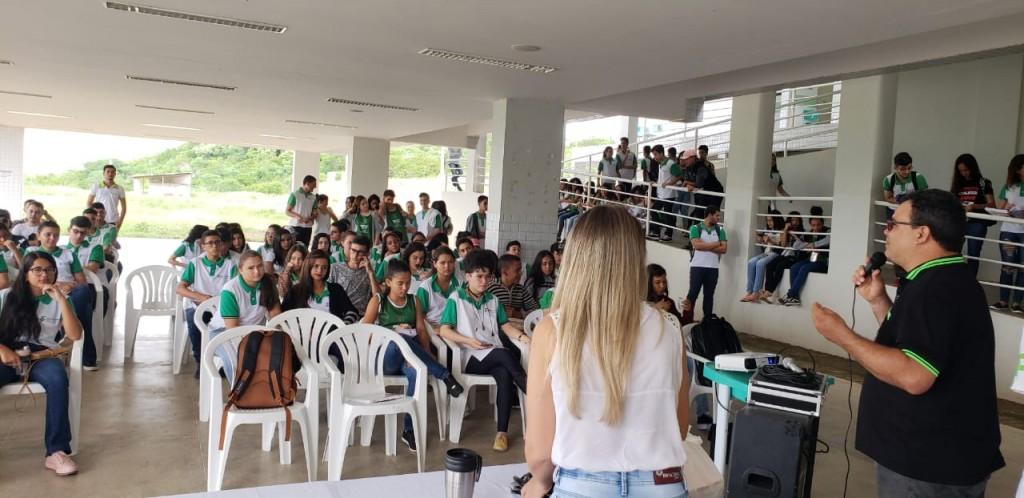 PARCERIA: PSE REALIZA PALESTRA COM ALUNOS DO IFPB