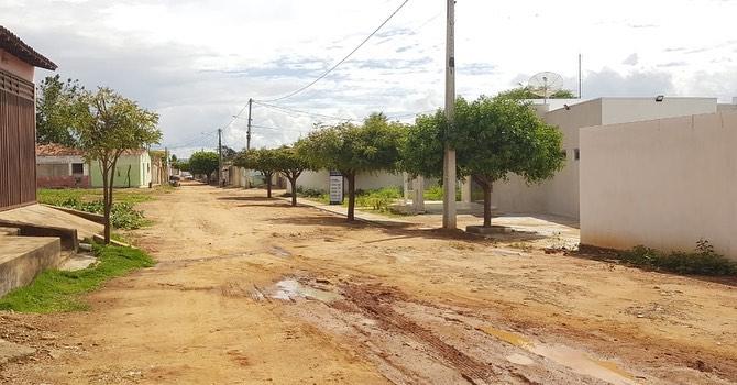 PREFEITURA ANUNCIA PAVIMENTAÇÃO DA RUA MANOEL FRANCISCO SOBRINHO, EM LAGOA DA CRUZ