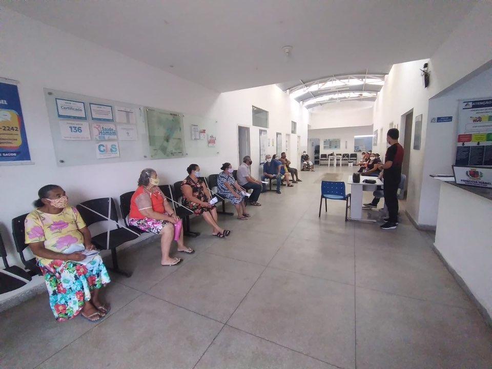 UBS MAIA REALIZA EVENTO ALUSIVO AO DIA MUNDIAL DE PREVENÇÃO E COMBATE À HIPERTENSÃO ARTERIAL.
