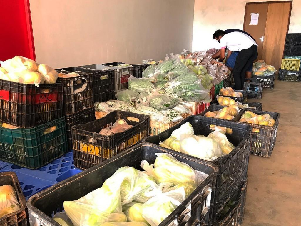 GOVERNO DA PARAÍBA MAIS 2,5 TONELADAS DE ALIMENTOS ORIUNDOS DA AGRICULTURA FAMILIAR A PRINCESA ISABEL