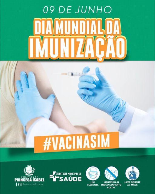 09 de junho - Dia Mundial da Imunização